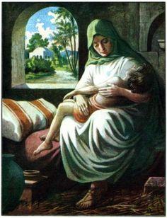 Elisha the Prophet Resurrects the Son of the Shunammite Woman.