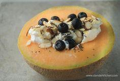 Breakfast Cantaloupe, 266 calories, 4 Weight Watchers PointsPlus