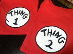 I absolutely love Thing 1 and Thing 2.