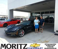 Congratulations to Ramiro Jayme on your #Chevrolet #Corvette purchase from Kathryn Underwood at Moritz Chevrolet! #NewCar