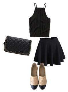 Cute by michele-bossuyt on Polyvore featuring polyvore, fashion, style, Abercrombie & Fitch and Chanel