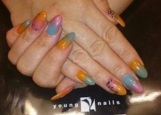 Acrylic burnished into maniq Nails, Beauty, Finger Nails, Ongles, Beauty Illustration, Nail, Nail Manicure