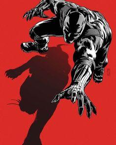 Black Panther!  Requested by @bjc1023 ~~~~~~~~~~~~~~~~~~~~~~~~~~~~~~~~~ #BlackPanther #Tchalla #Avengers #TheAvengers #Illuminati #superhero #superheroes #vigilantes #vigilante #wakanda #Marvel #Comics #MarvelComics #Comic #ComicBooks #ComicStuff