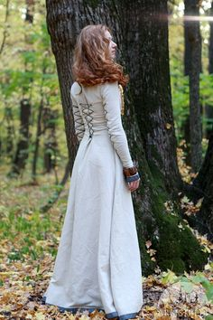 Classic Medieval Dress with Lacing