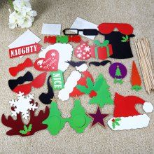 28PCS Christmas Photo Props Card Scene