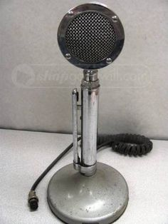 37 Best Microphone images   Vintage microphone, Old