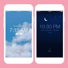 This app tracks your sleep so that it can wake you up when you're in your lightest phase of your sleep cycle.