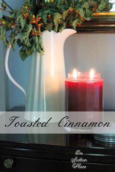 Toasted Cinnamon Scented Candle