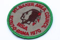 Vintage Badge Boy Scouts BSA Patch Scout O by VintageInkPrints