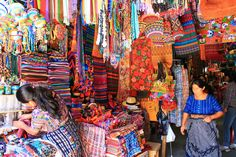 Mayan market, Antigua, Guatemala