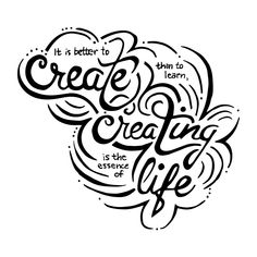 Julia Prajza is an Art Director, Creative Letterer and Muralist based in Toronto. Art Director, Lettering, Learning, Calligraphy, Studying, Teaching, Letters, Texting, Brush Lettering