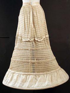 1850-55 Victorian Cage crinoline