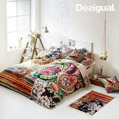 Fotografija: To innovate is not to reform! Turn your bedroom into a sanctuary of peace, color and relaxation. #Living http://desigual.me/blackwhitebed