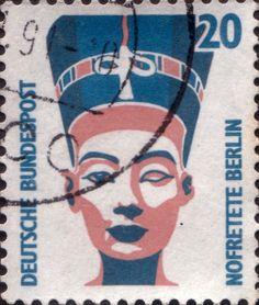 nefertiti postal stamps Germany
