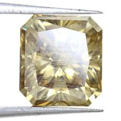 Top Quality Radiant Shape Brown Color 2.53 Carat Great Loose Moissanite