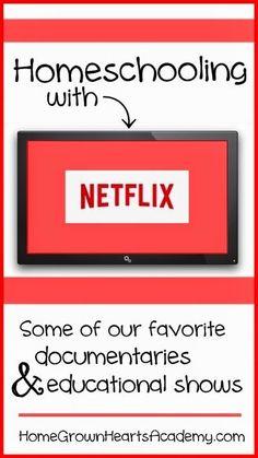 Homeschooling with Netflix