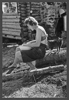 Julia Child Lopaus Point, Maine, 1951