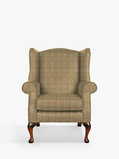 Green Room Colors, Green Rooms, Parker Knoll Chair, Wingback Chair, Armchair, Green Vans, Wing Chair, Curtains With Blinds, John Lewis