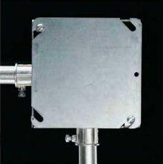 Instalaciones eléctricas residenciales - caja de registro metálica