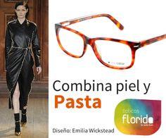 3efd2079ac Combina piel y pasta con gafas de moda en Ópticas Florida #opticasflorida # Mallorca #