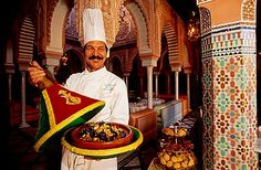 Tajine, plato tradicional, hotel de lujo La Mamounia, Marrakech, Marruecos