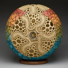 The Polymer Arts magazine's blog features one of Mark Doolittle's gourds. Instant inspiration for the polymer clay artists. www.thepolymerarts.com