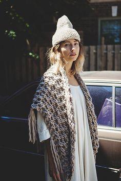 Ravelry: belleville shawl cowl pattern by Tara-Lynn Morrison