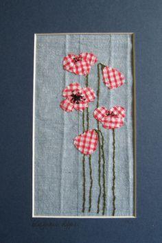 'Gingham Poppies' Kate MacDonald - Studio Barn Argyll