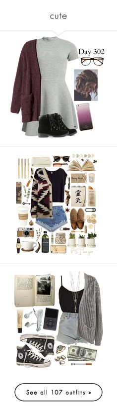 """""""cute"""" by warpedmagconbabe ❤ liked on Polyvore featuring Superdry, H&M, Kate Spade, ZeroUV, Ollio, Universal, Martha Stewart, C.R.A.F.T., Diptyque and Aesop"""