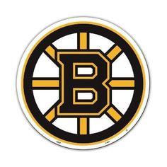 """BOSTON BRUINS 12"""" VINYL MAGNET"""