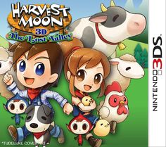 Harvest Moon the Lost Valley (Nintendo 3DS)  release 15-11-2014