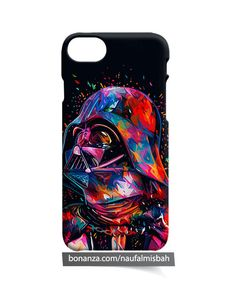 Star Wars Darth Vader Coloured iPhone 5 5s 5c 6 6s 7 8 + Plus X Case Cover
