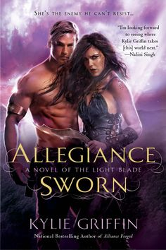 #CoverReveal Allegiance Sworn by Kylie Griffin. Art by Gene Mollica. April 2nd, 2013
