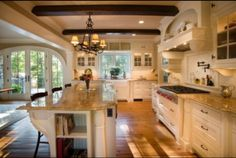 Dream kitchen!! Maybe some day.