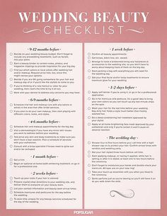 Top 10 Pins: An Ultimate Wedding Beauty Checklist and DIY Pimple Cream