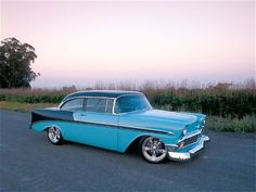 Check out this 1956 Chevy Bel Air from Car Craft Magazine Bel Air Car, 1956 Chevy Bel Air, Chevrolet Bel Air, American Classic Cars, Classic Trucks, Sexy Cars, Hot Cars, Custom Trucks, Custom Cars