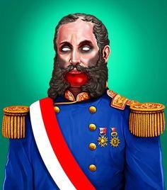 Andrés Avelino Cáceres Zombie