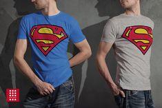 Men T-Shirt Superman