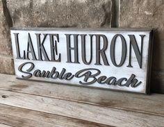 Instagram post by Ironwood North Design • Jan 2, 2019 at 12:29am UTC North Design, Lake Huron, Family Signs, Grandparents, Grandkids, Wood Signs, Farmhouse, Instagram Posts, Furniture
