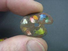 ULUS miniatures miniature artist palette