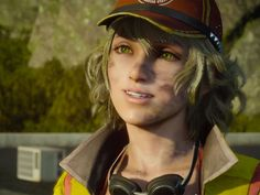 This is a screenshot from the new Final Fantasy 15 trailer. Cindy Final Fantasy Xv, Cindy Aurum, Cosplay, Detroit Become Human, Concept Art, Halloween Face Makeup, Games, Chara, Playstation