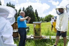 Take on a mountain with a guide or wander into the Walser wilderness - in Kleinwalsertal, we specalise in take home memories. Bee Keeping