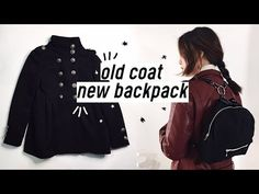 ✂️DIY Old Coat to Backpack | Qformation EP.3 - YouTube
