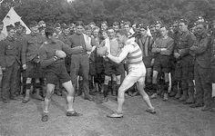 Royal Scots Boxing Match c. 1914