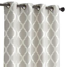 Pier 1: Moorish Tile Curtain - Gray