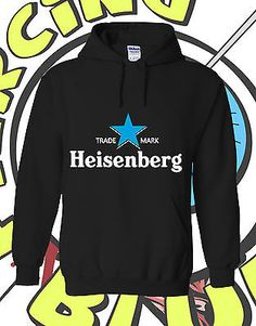 Heisenberg Breaking Bad Beer Inspired Adult Mens Ladies Womens Hoodie Hooded Top