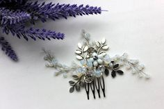 image 0 Hair Comb Wedding, Wedding Hair Accessories, Bobby Pins, Photo Shoot, Wedding Hairstyles, Opal, Brooch, Trending Outfits, Unique Jewelry