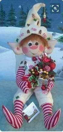 Christmas Ornament Crafts, Christmas Gnome, Christmas Sewing, Primitive Christmas, Christmas Projects, Felt Crafts, Holiday Crafts, Christmas Decorations, Handmade Ornaments