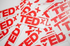 I could definitely use some TEDx stickers! Stickers! Photo: Kris Krüg
