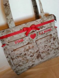 Check out this item in my Etsy shop https://www.etsy.com/listing/255246101/marine-diaper-bag-handmade-custom